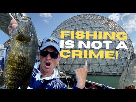 Toronto Fishing Spots - Ontario Place SECURITY Kicks Us Out!?!