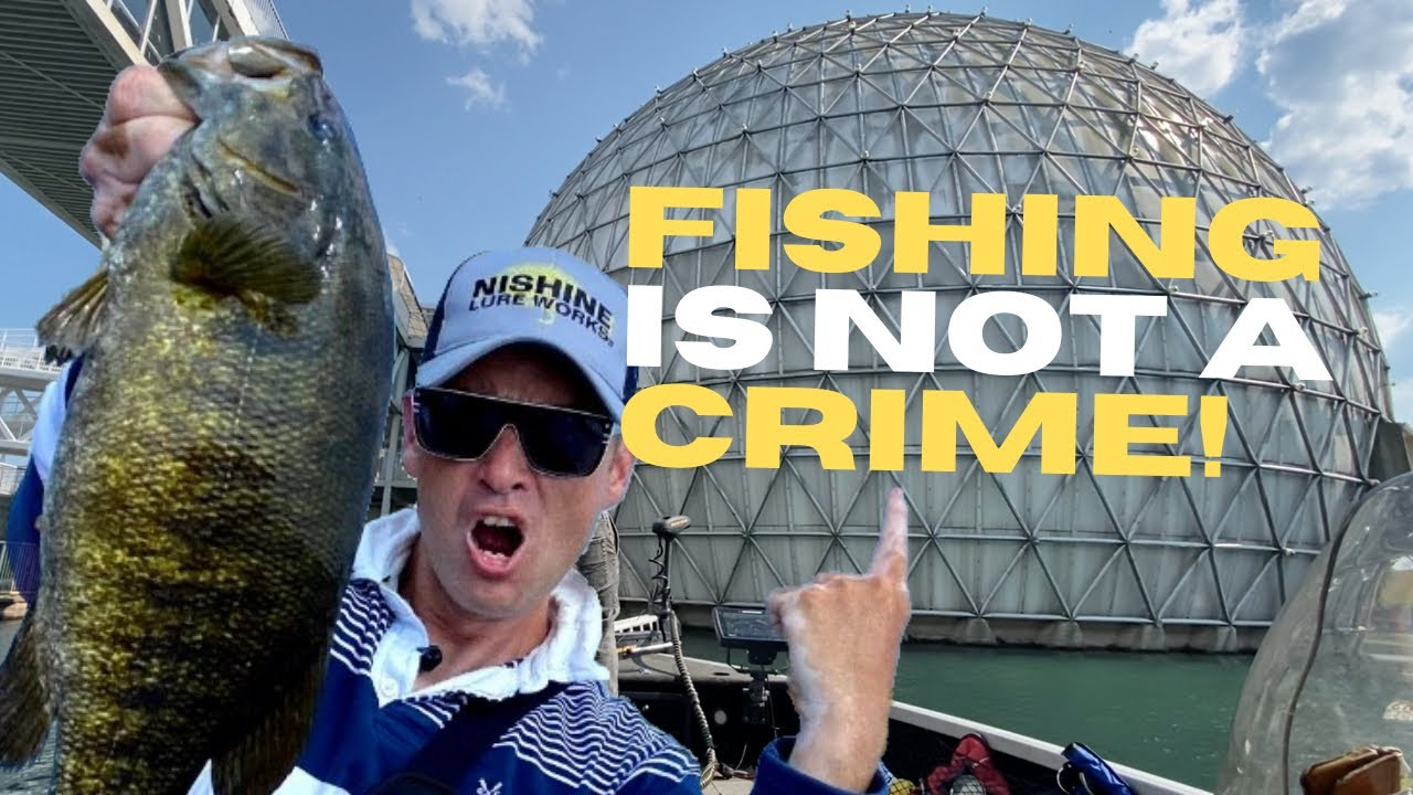 Toronto Fishing Spots - Ontario Place SECURITY Kicks us out!?!