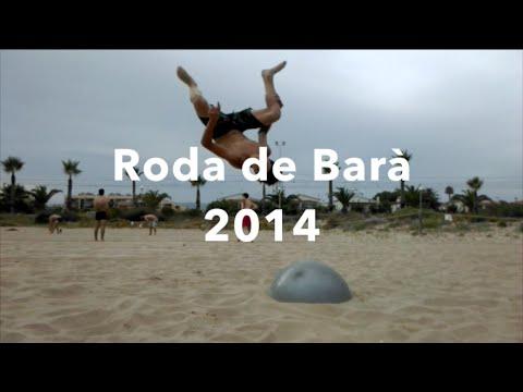 TRAMPOLINE TRICKS ON BEACH WITH YOGA BALL!! - Roda de Barà 2014 - Summer 2014