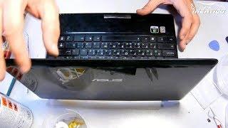 Asus Eee PC 1201   Разборка. Чистка.
