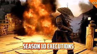 ALL New Season 10 For Honor Finishers