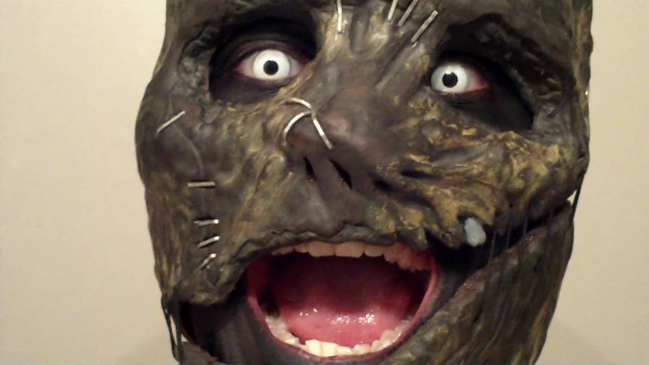 "My ""Agothincloth"" Corey Taylor Vol. 3 Mask - YouTube"