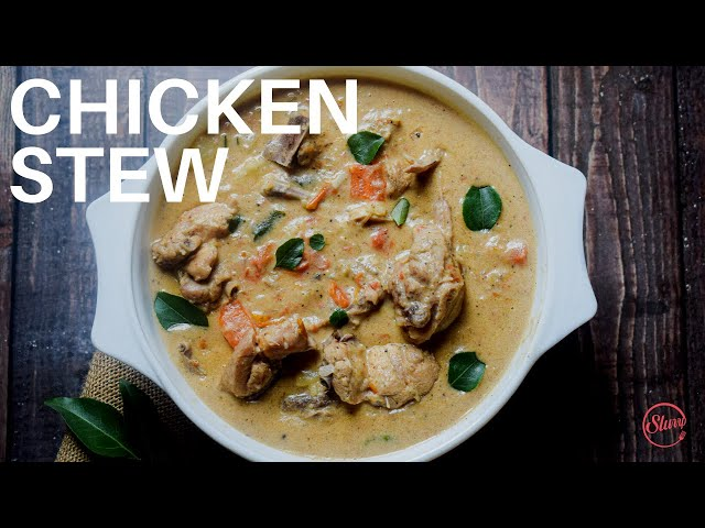 CHICKEN STEW RECIPE | HEALTHY CHICKEN STEW | CHICKEN STEW CURRY RECIPE