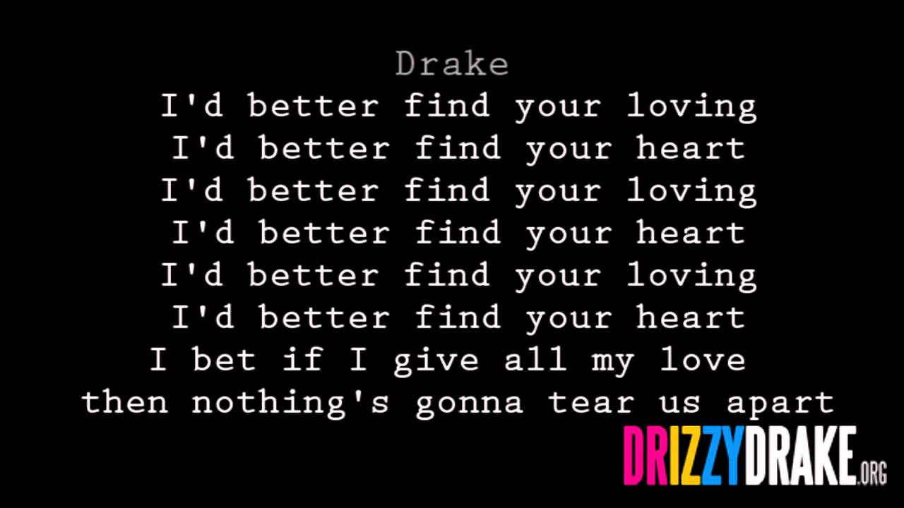 Drake – Find Your Love Lyrics | Genius Lyrics