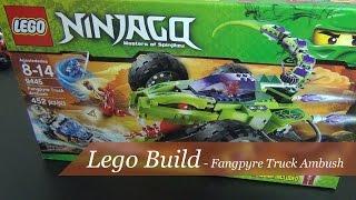 Let's Build - Lego Ninjago Fangpyre Truck Ambush Set #9445 - Part 1