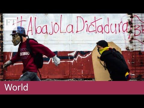 Venezuelan vote tips life in Caracas into chaos | World
