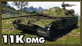 K-91 - 11K Damage - World of Tanks Gameplay