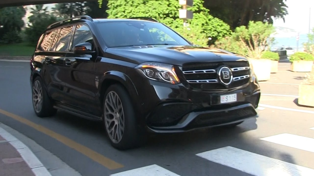 2017 Brabus 850 Xl Mercedes Gls63 Amg In Monaco A House On