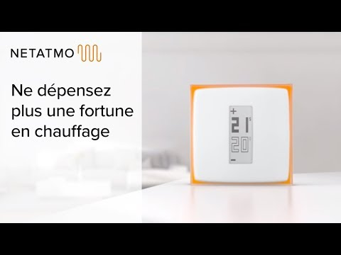 Vidéo PUB  TV NETATMO