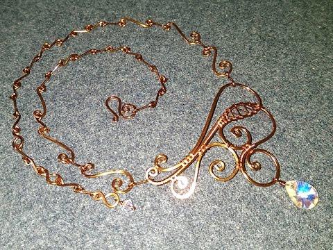 necklaces inspired by henna motifs - designer handmade jewelry  21