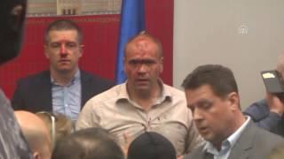 Makedonija: Demonstranti upali u zgradu parlamenta 1