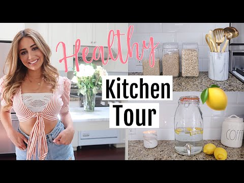MY NEW KITCHEN TOUR! Clean Eating Hacks 2018