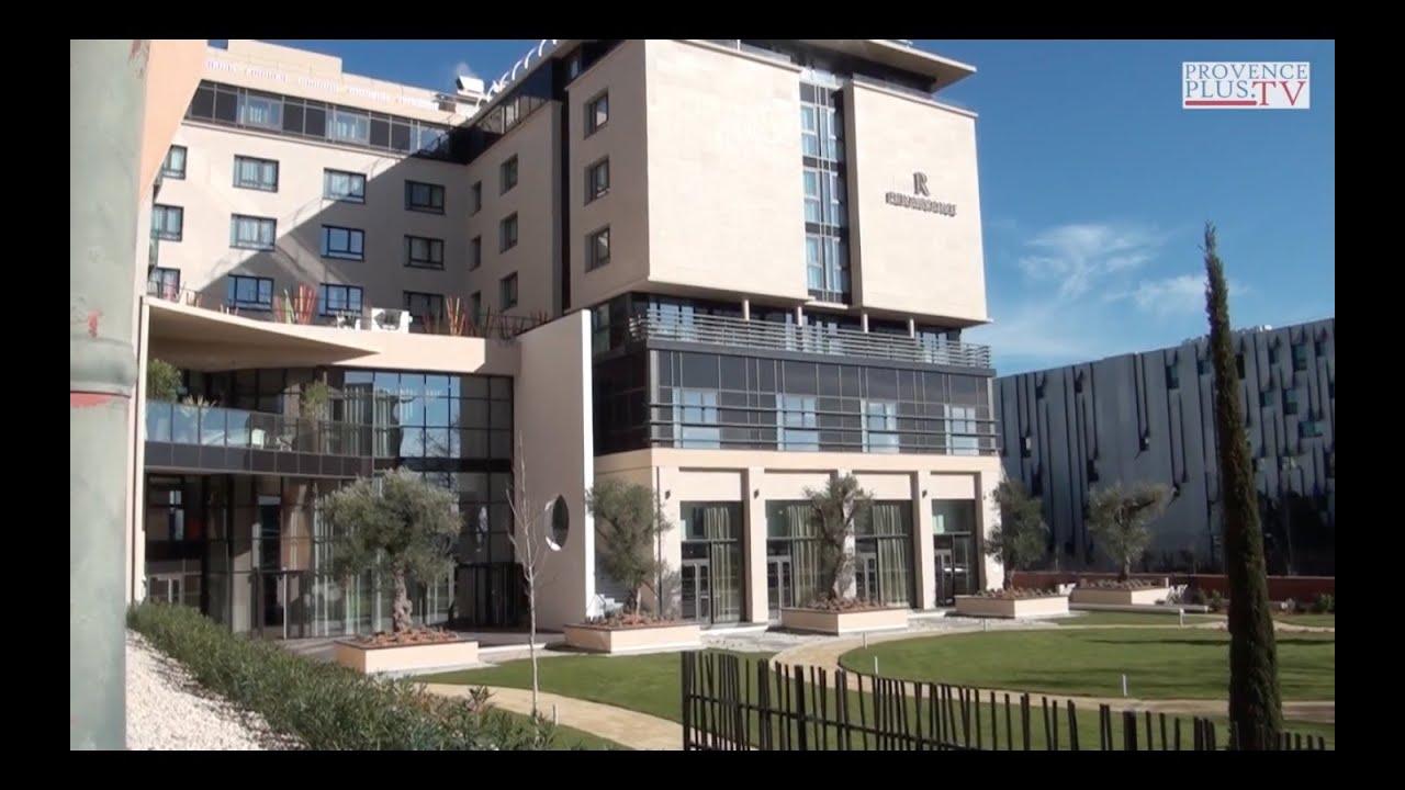 Inauguration de l 39 h tel renaissance aix 5 toiles youtube - Hotel renaissance aix en provence ...