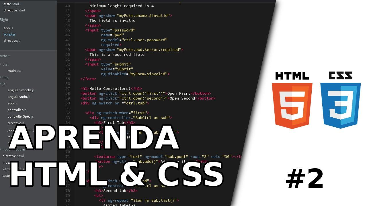 Aprenda html5 e css3 2 html5 em um vdeo youtube aprenda html5 e css3 2 html5 em um vdeo baditri Gallery