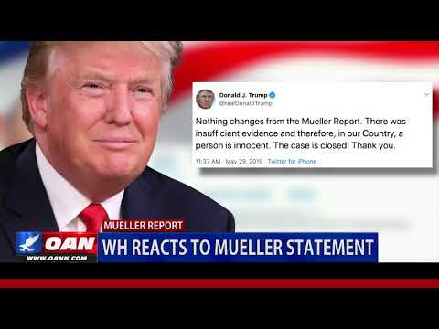 President Trump: 'Case Closed' on Mueller probe