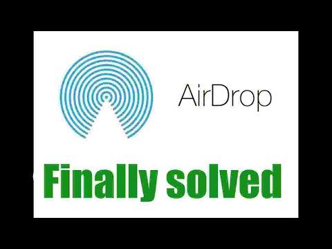 Airdrop fix 2018