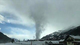 На Австрию обрушилось мини-торнадо