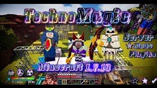 Техно Магическая сборка Minecraft 1.7.10
