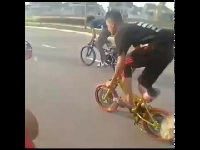 Gws kecundang kroni basikal