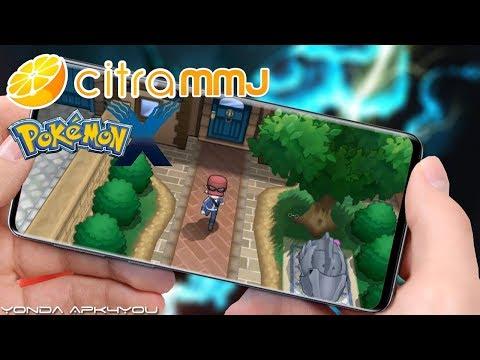 New 3DS Emulator! Setup Citra MMJ Pokemon X Android Gameplay