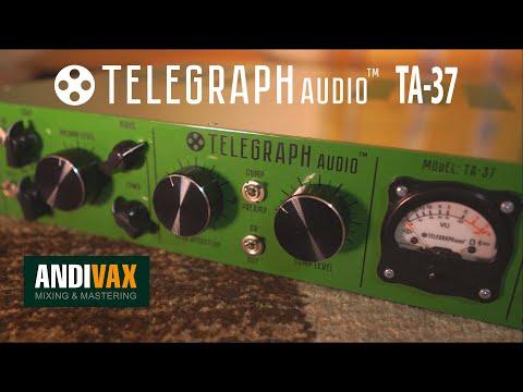 AVR 061 - Telegraph Audio TA-37 (ламповый преамп с компрессором и EQ) + ENG SUBS