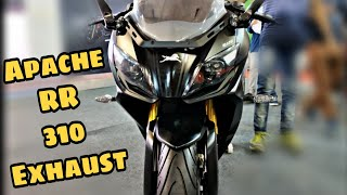 Apache RR 310 Exhaust sound🔥🔥| Autocar Performance Show.
