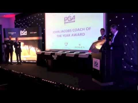 John Jacobs Coach of the Year: Dominique Larretche - PGAs of Europe Annual Congress Awards