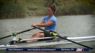 Lucie Lyat, objectif jeux olympiques pour cette nouvelle israélienne - Mael Benoliel for i24news