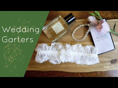 Wedding Garters - Our Favourite Styles