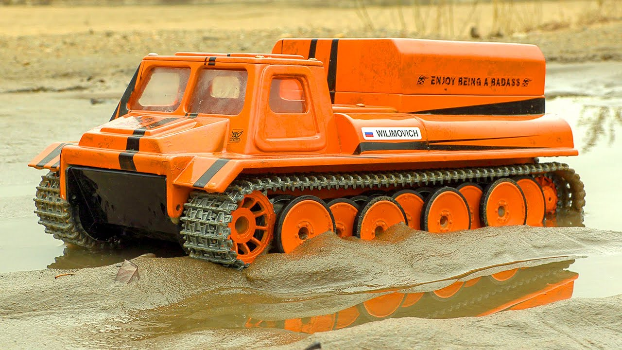 RIPSAW CUSTOM TANK - TRACKED ALL-TERRAIN VEHICLE RC GAZ 71 | WILIMOVICH