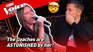This girl turned her Blind Audition into a CONCERT in The Voice Kids! 😍  Road To