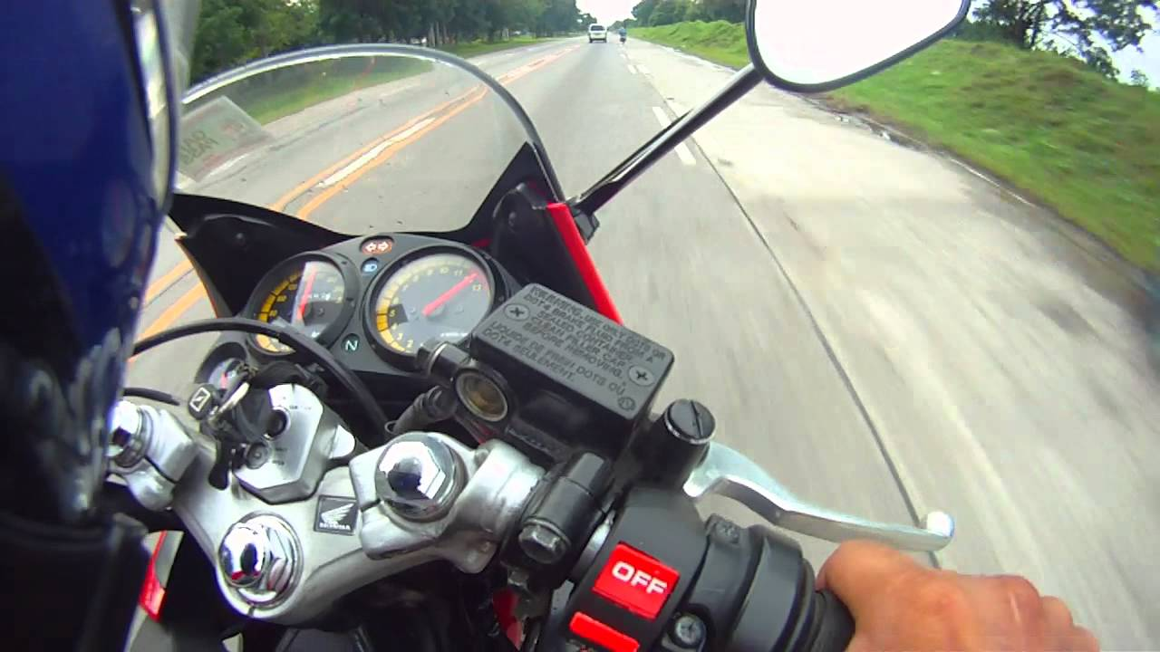 gps top speed (part 1/2) : honda cbr 150 r (carb version) with