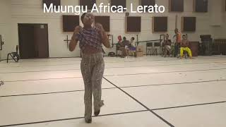 African Sexy Lady dancing To ( LERATO  BY MUUNGU AFRICA)