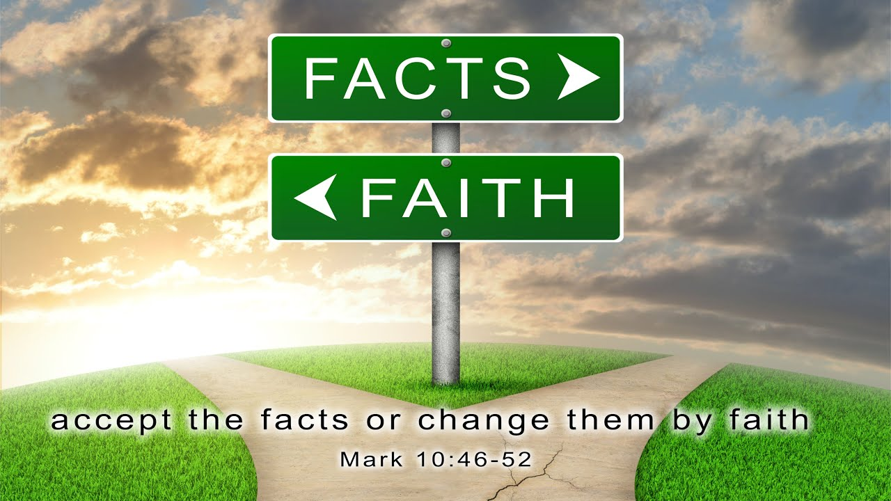 Faith Is Not a Substitute For Facts