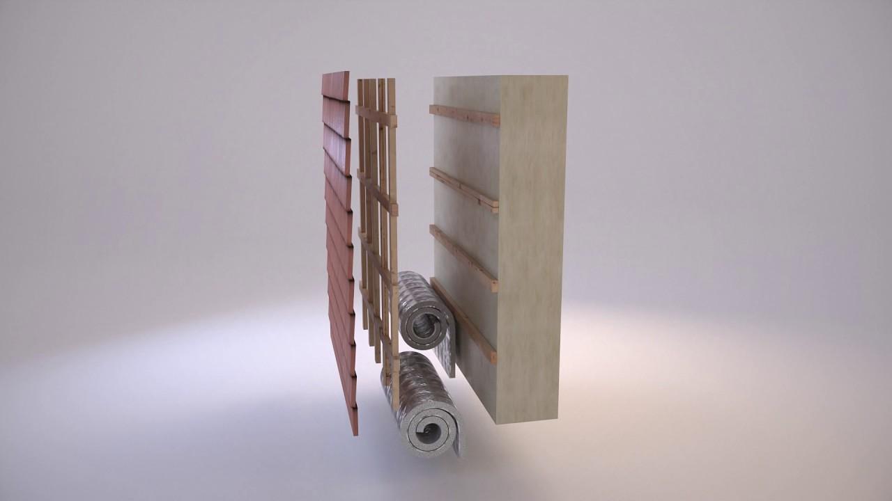 isotec isolant mince thermo r flecteur murs ext rieurs sous bardage ou bacs aciers isotec. Black Bedroom Furniture Sets. Home Design Ideas