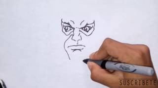cómo dibujar a Leono/ how to draw Lion-o - thundercats