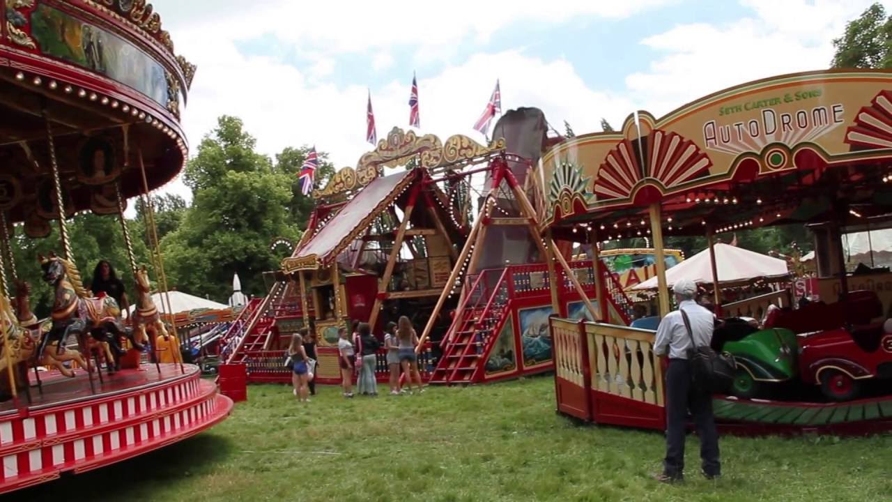Carters Steam Fair Youtube