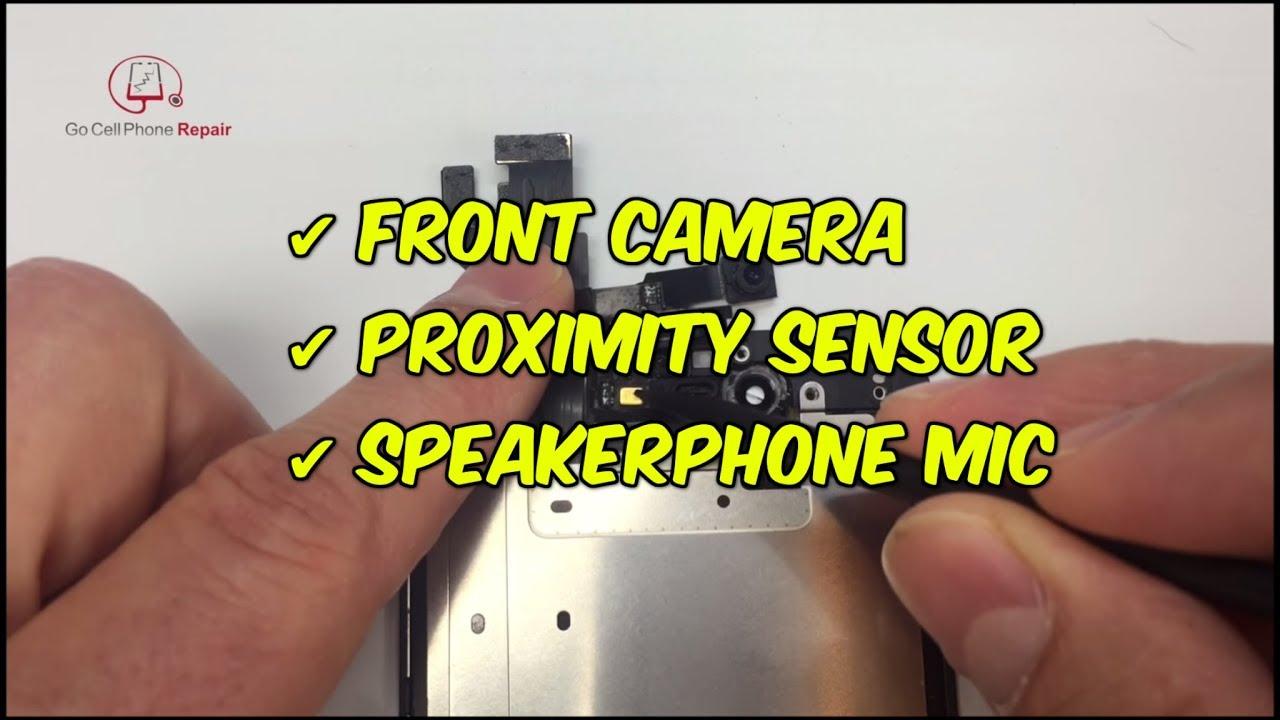 timeless design e8e16 b7c58 How to fix iPhone 6 front camera, proximity sensor, blue screen, and more
