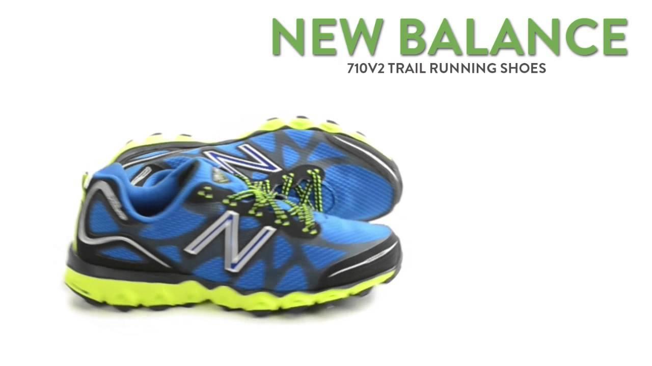 nowy design przejść do trybu online amazonka New Balance 710V2 Trail Running Shoes (For Men)