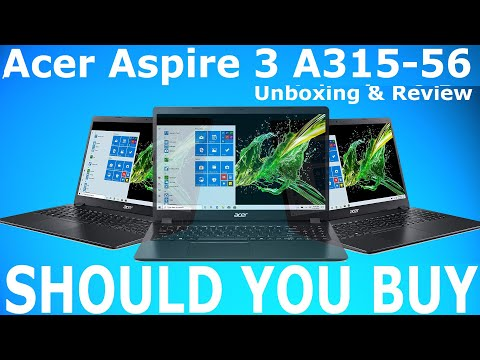 Acer Aspire 3 A315-56 Core i5 10Gen Laptop | Should You Buy Or Not | Unboxing & Review [Hindi]