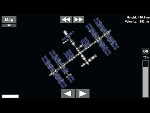 Building the ISS in real time events - Spaceflight Simulator
