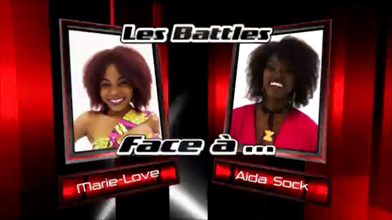 Download Marie Love vs Aida Sock - Na GODE (Les battles   The Voice Afrique francophone 2016)