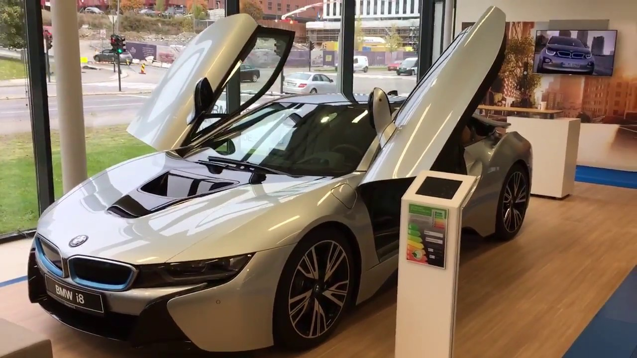 Bmw I8 Silver Walkaround Youtube