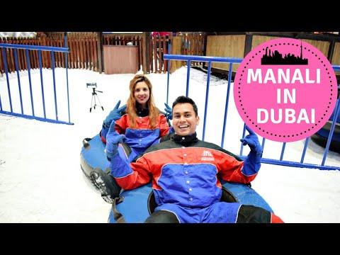 SNOW IN DUBAI | MANALI IN DUBAI | SKI DUBAI VLOG | BEST PLACE TO VISIT IN DUBAI | TRAVEL TRICKS