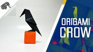 Origami - How To Make An Origami Crow (Raven)