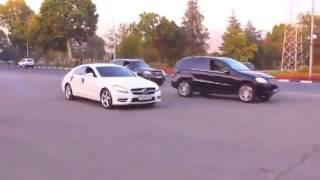 Свадебный кортеж в Душанбе