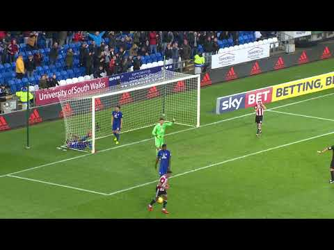 NEAL MAUPAY MISSES OPEN GOAL v CARDIFF CITY thumbnail