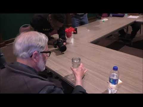 Coin Through Table Presentation by Enigmatist Dr. David E. Goldman