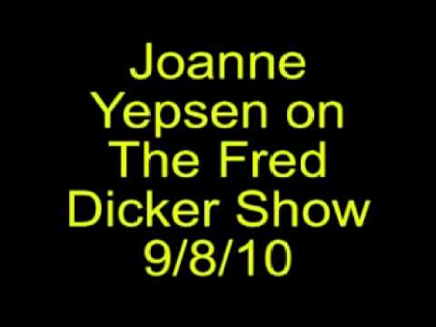 Not Ready for Prime Time: Joanne Yespen on the Fred Dicker Show (9/8/10 part 1)
