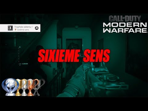 Trophée Sixième sens  : Call of Duty Modern Warfare (2019)